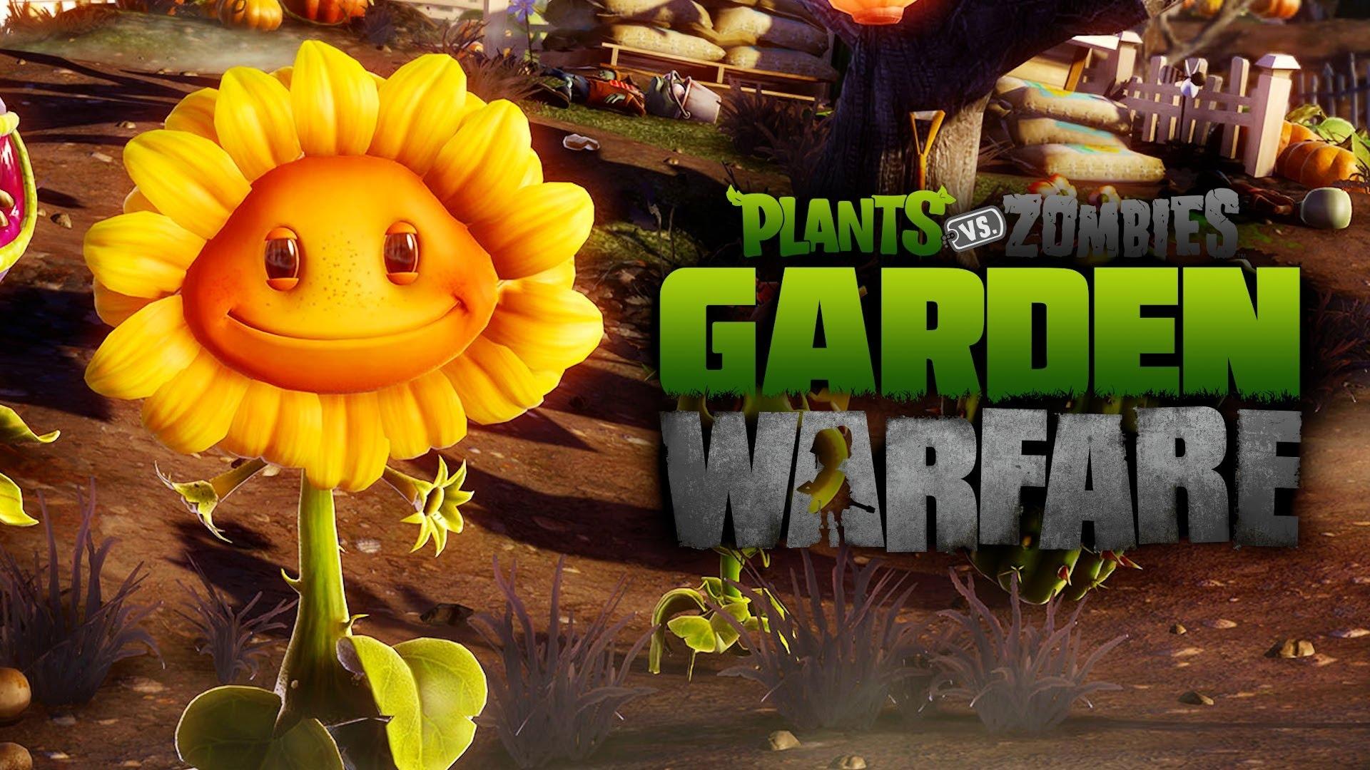 Fondos de plantas contra zombies imagenes y wallpapers hd for Plants vs zombie garden warfare