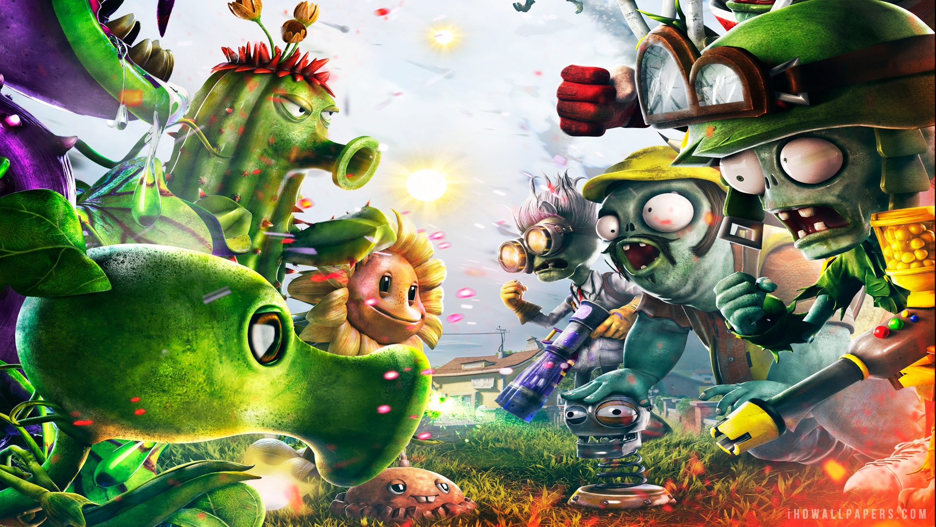 Fondos de Plantas contra Zombies, imagenes y Wallpapers HD